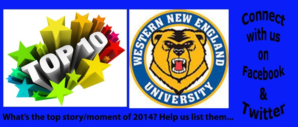 What's the No. 1 Story/Moment for WNE Athletics in Calendar Year 2014?