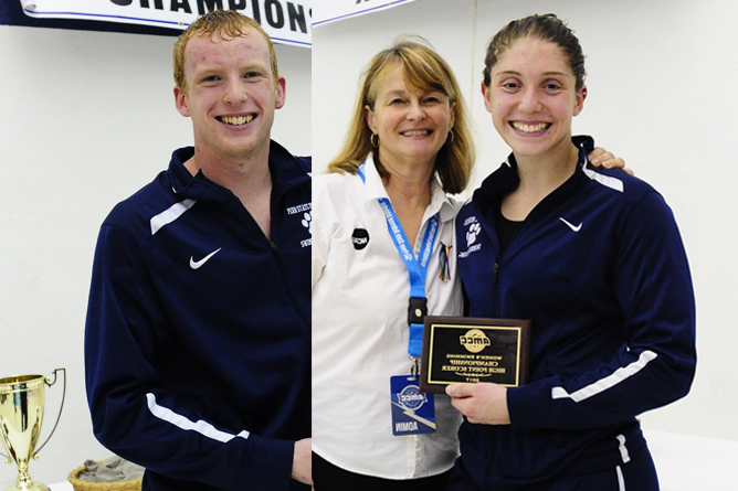 Kost, Horn Named AMCC Swimmers of the Week