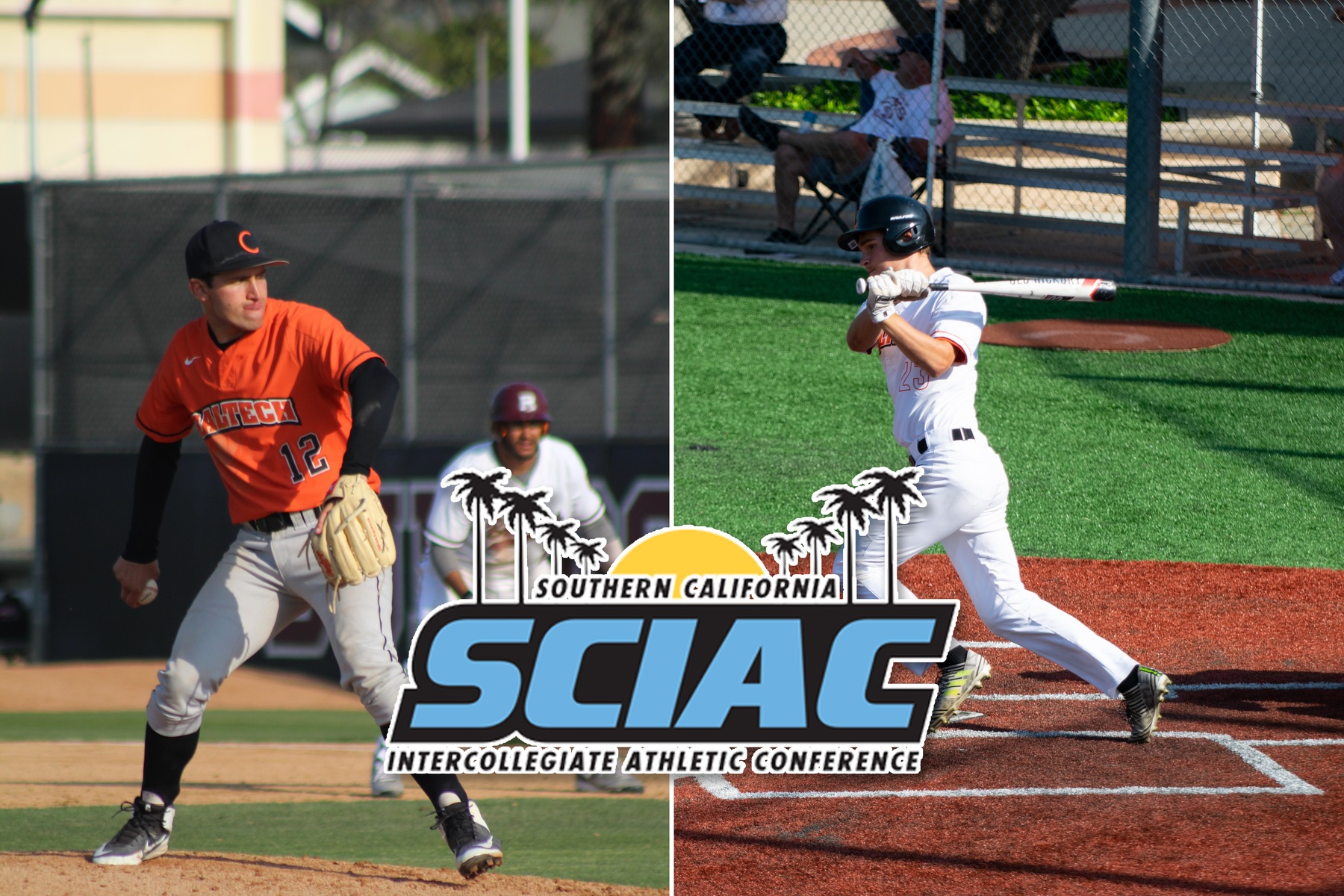 Perry, Popken Named to Second Team All-SCIAC