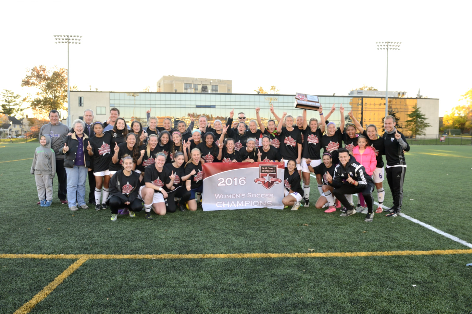 Back-To-Back!!! Women's Soccer Wins Second Straight East Coast Conference Crown With 2-0 Victory Over LIU Post