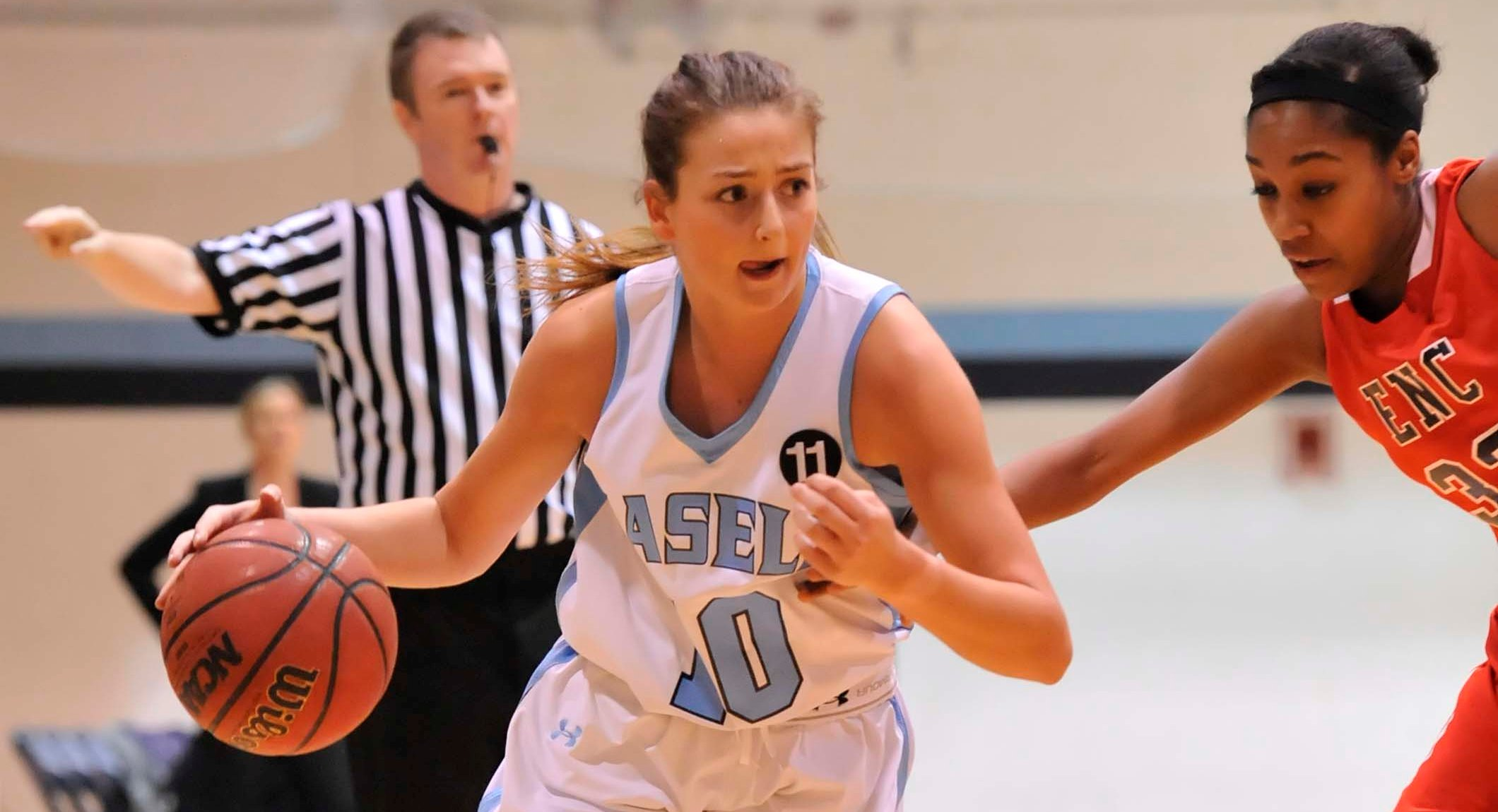 Women's Basketball Tops Wentworth in 58-55 Victory