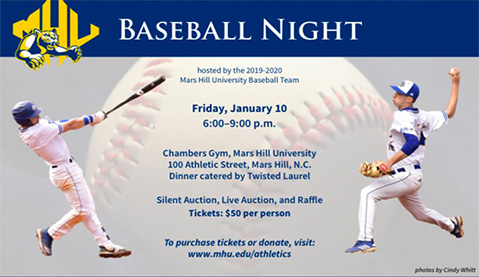 Mars Hill Baseball to host 3rd annual Baseball Night