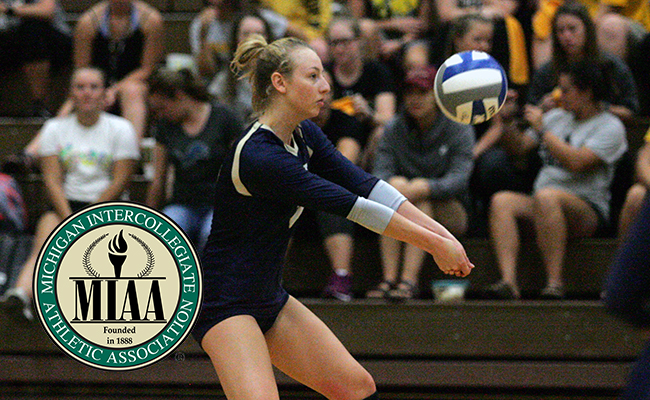 Munger Named MIAA Athlete of the Week