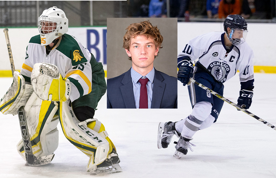 SUNYAC names Men's Ice Hockey Athletes of the Week