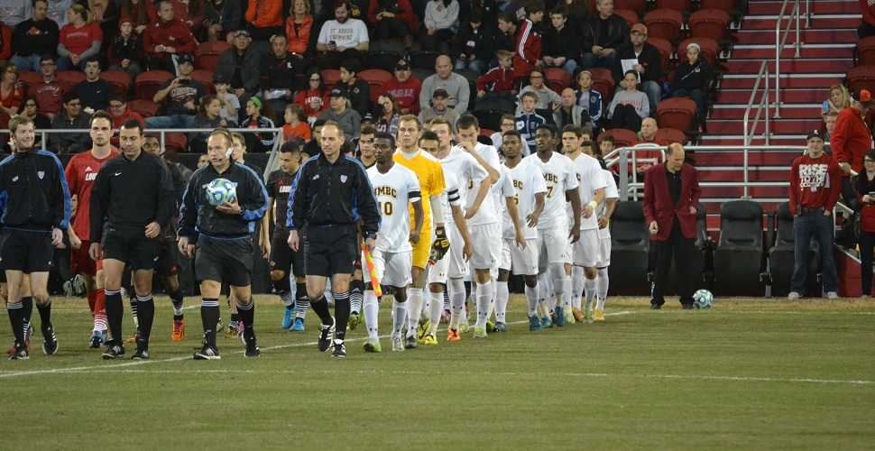 Men's Soccer Advances to NCAA Quarterfinals With 1-0 Win at Louisville