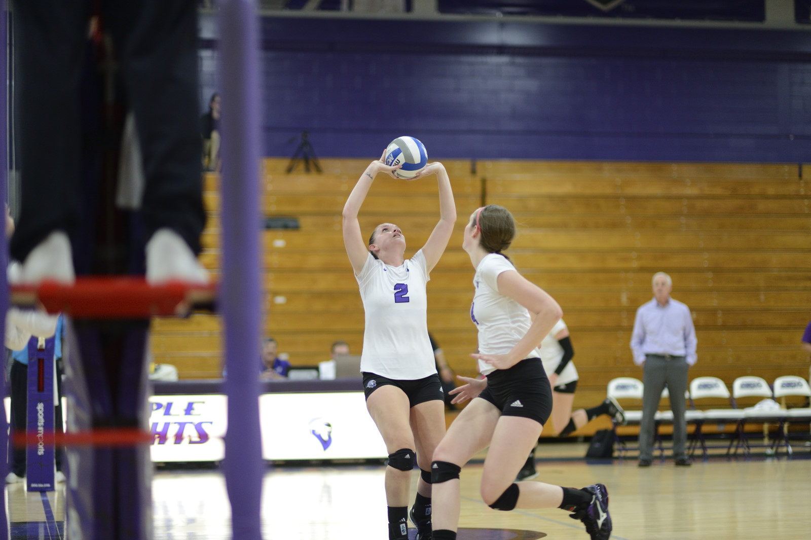 Bridgeport Sweeps Past St. Rose In Non-Conference Volleyball Action