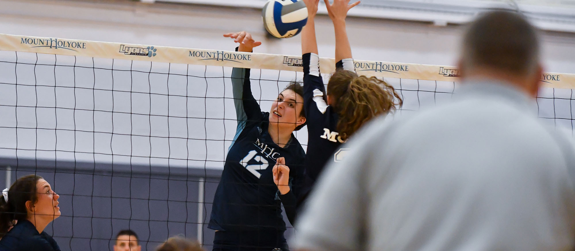 Volleyball Drops Two in Tri-Match With Becker and Bridgewater State