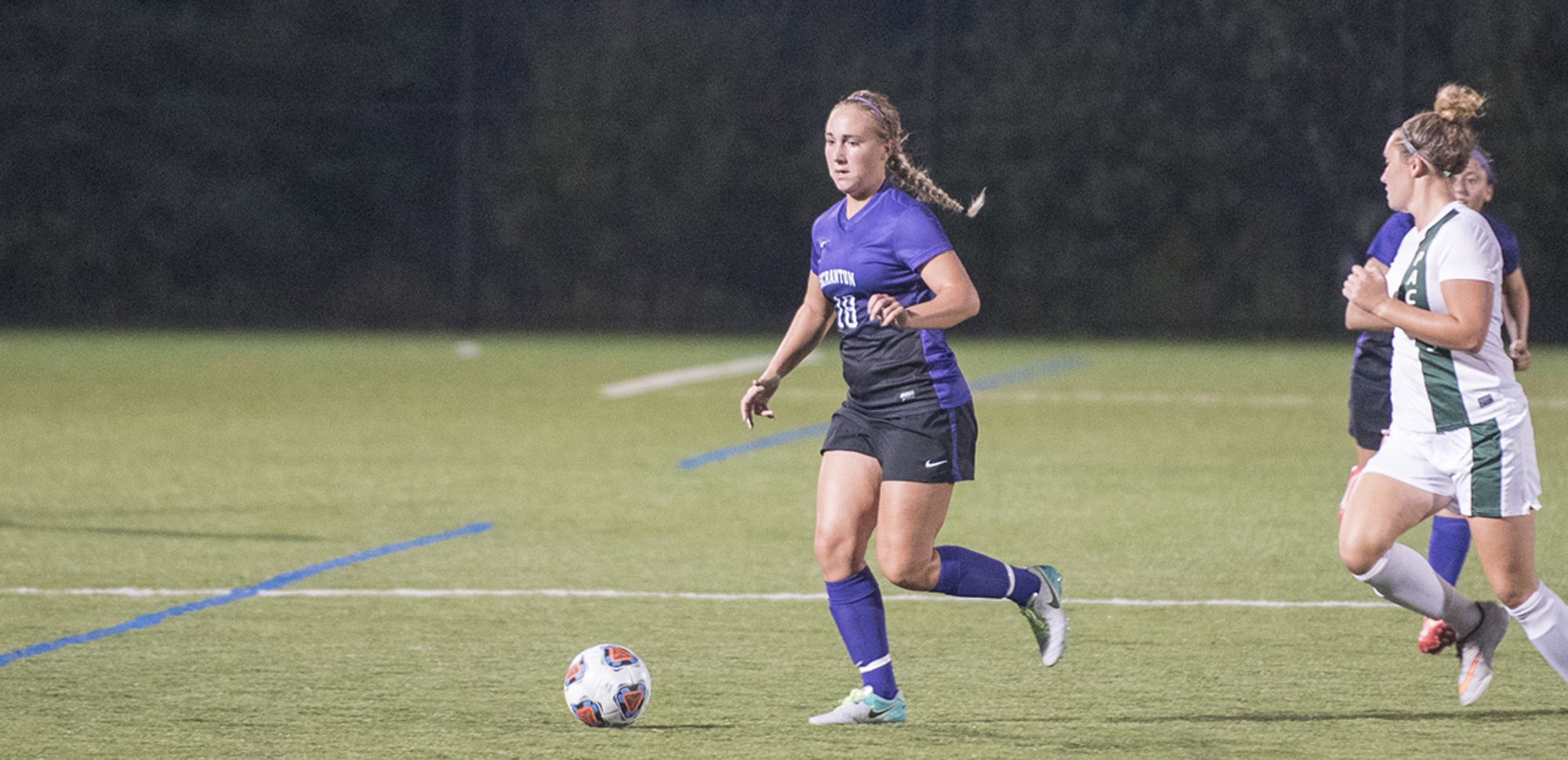 Sophomore midfielder Taylor Stevens had her team-leading fifth assist of the season on Tuesday night.