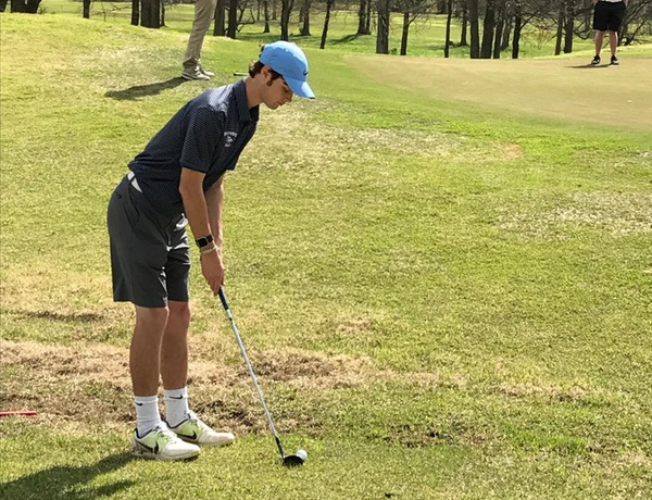 Harris Records Top Blue Jay Score at Blueboy Invitational