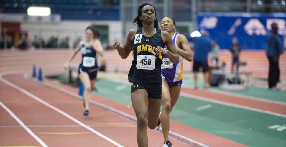 UMBC Track and Field Completes Day One of the ECAC/IC4A Championships