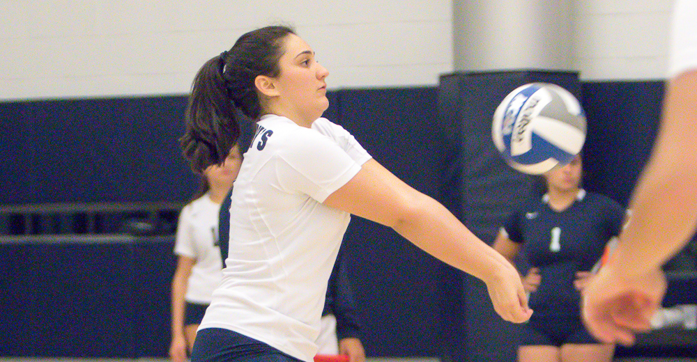 Trio of Double-Doubles Leads Women's Volleyball Past Brooklyn in Five