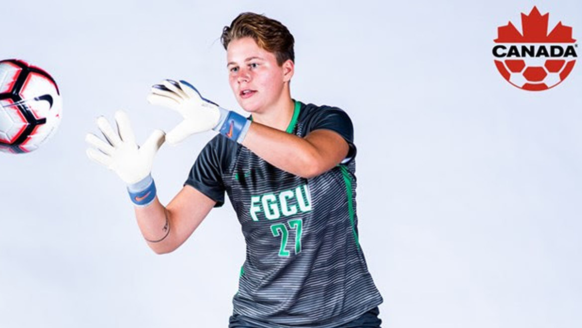 McCue to represent FGCU at Canada's U20 Women's National Team Camp