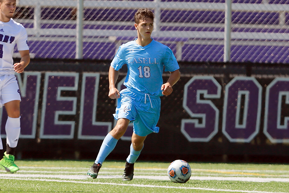 Lasell Men's Soccer edges Emmanuel in GNAC play