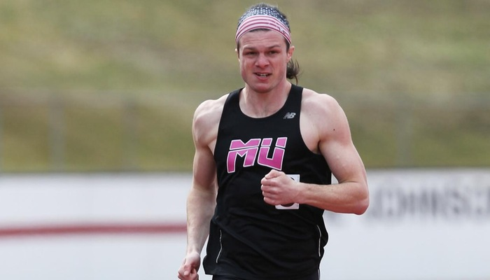 Men's Indoor Track & Field placed 6th at the Pioneer Open