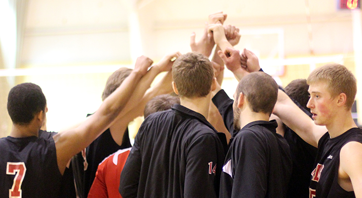 Records Fall as Men's Volleyball Sweeps Saturday Slate