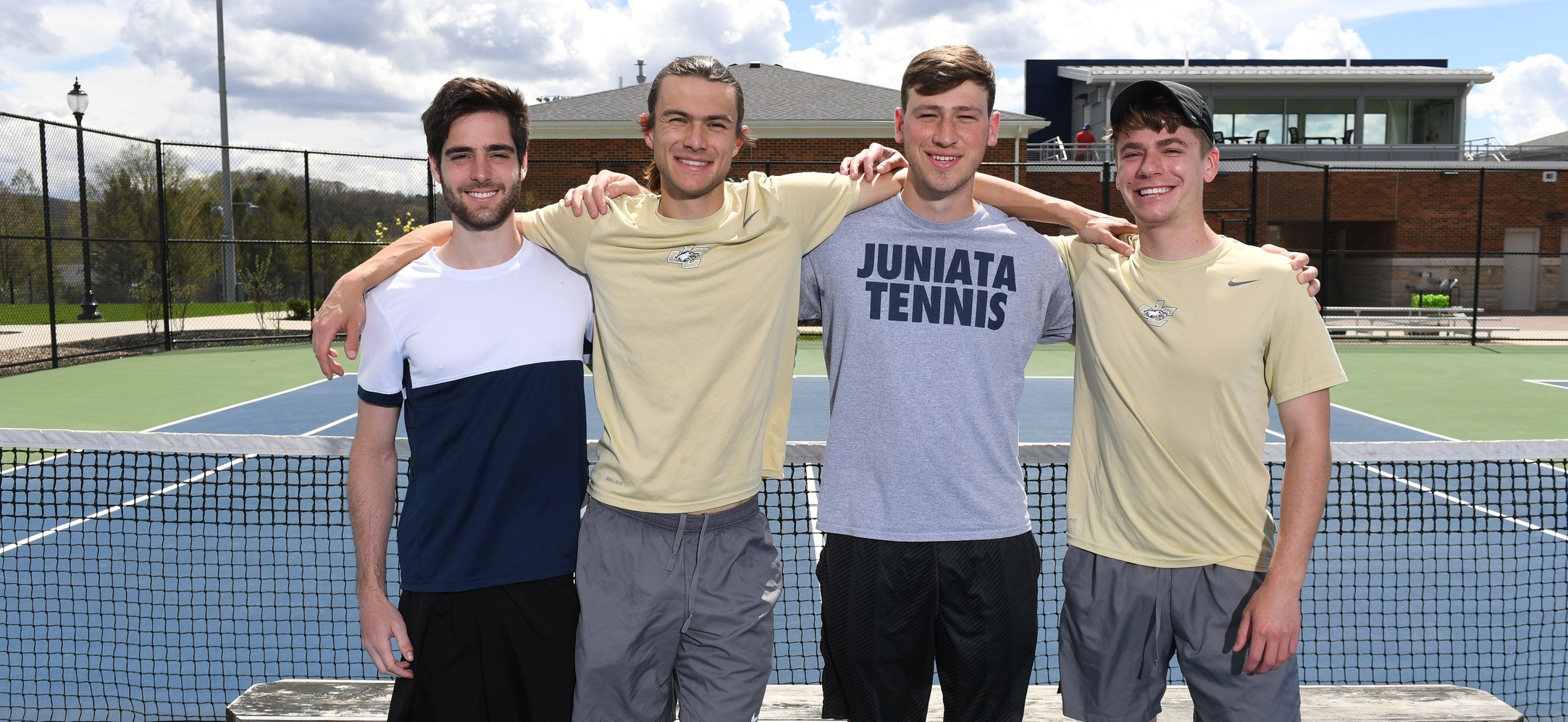 Men's Tennis Falls to Goucher on Senior Day