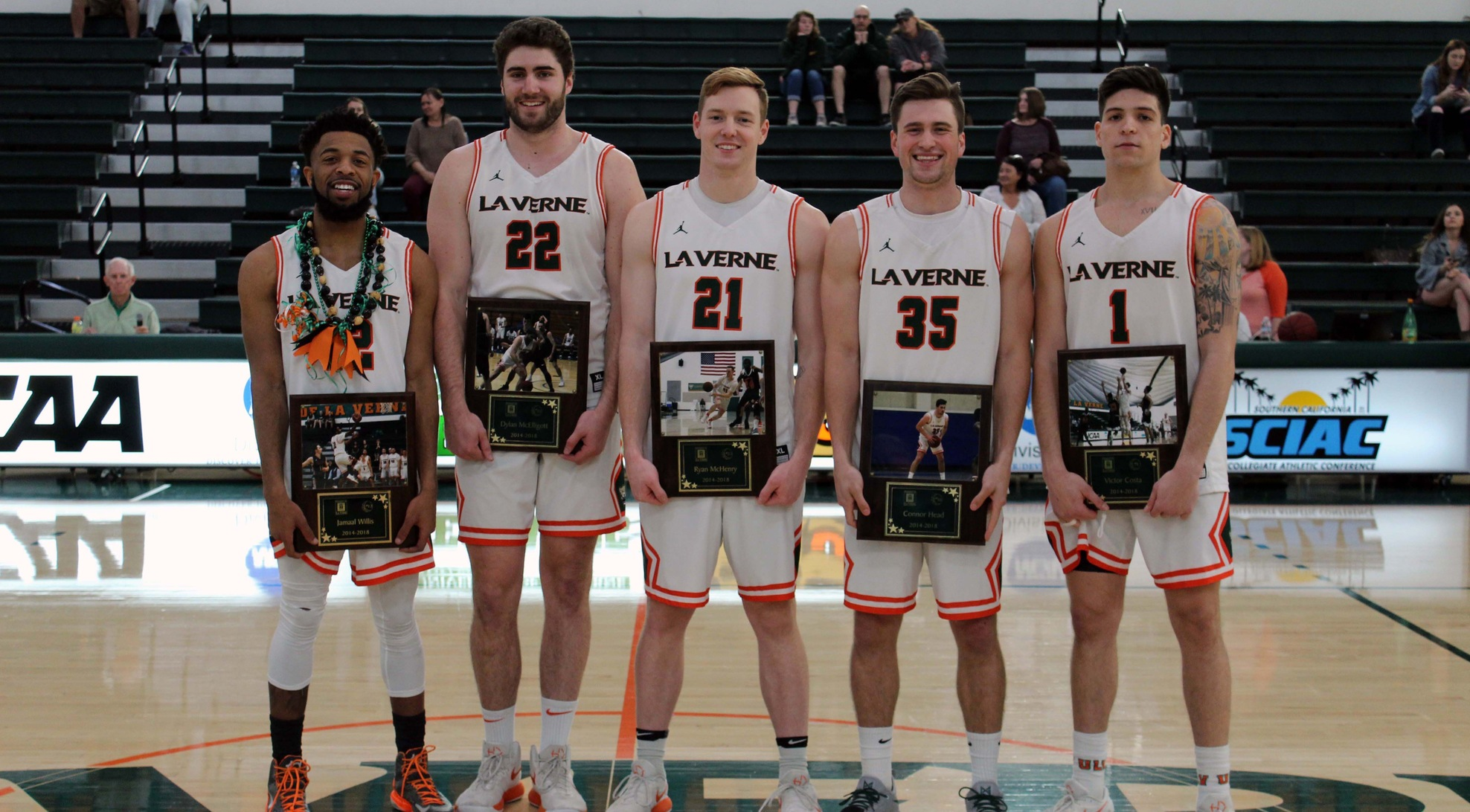 Leopards win in overtime on Senior Day