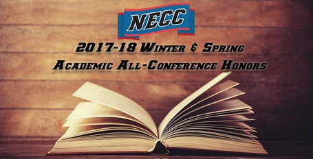 Lynx Place 10 on Winter/Spring NECC Academic All-Conference