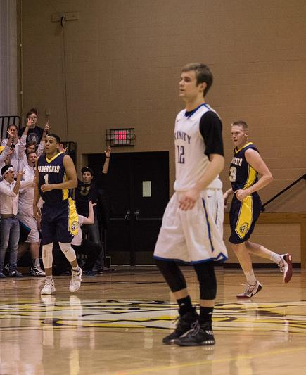 Lions MBB Upset in North Region Semi-Final