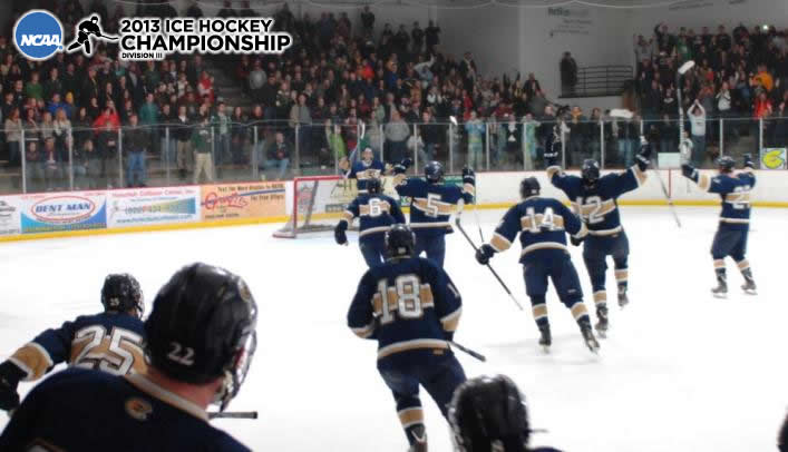 Blugolds Advance to First-Ever Frozen Four with Win Over St. Norbert