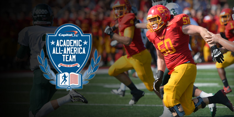 Severn named to Capital One Academic All-America Team