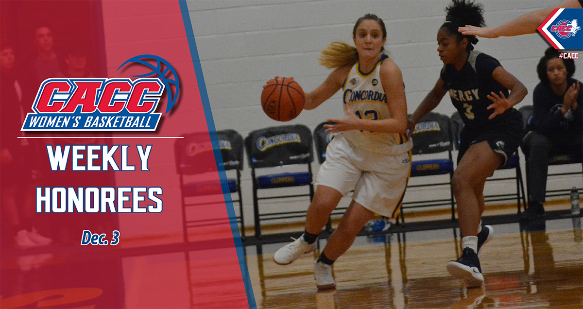CACC Women's Basketball Weekly Honorees (Dec. 3)