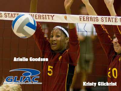 Bulldog Trio Tabbed To GLIAC Women's Volleyball Team
