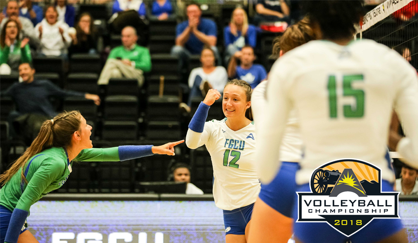 No. 1 FGCU Throws Block Party to Advance to Third Straight ASUN Final