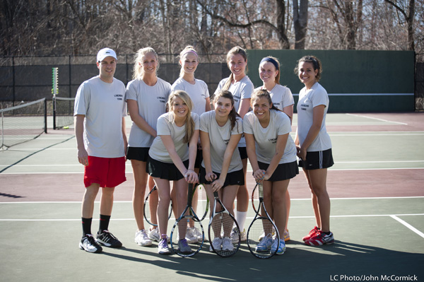LC Women's Tennis Defeated by Bridgewater 9-0