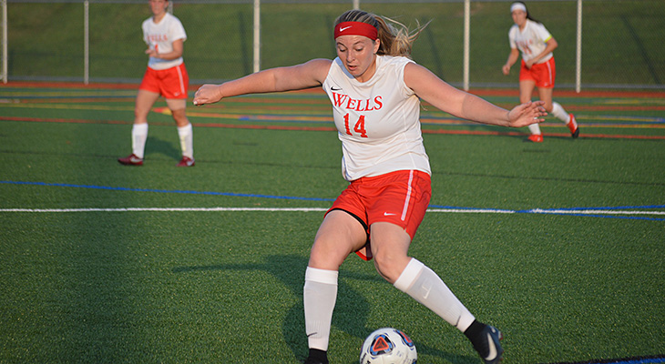 Wells Women's Soccer Victorious Over Penn State Abington