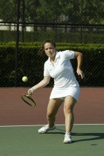 Tennis Continues Conference Play This Weekend