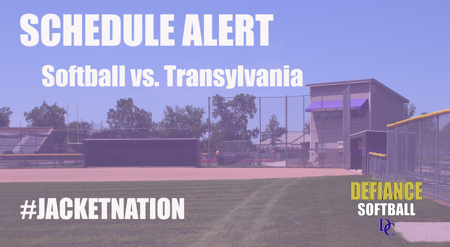 Softball Contest with Transylvania Rescheduled
