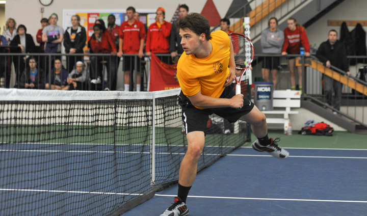 Ferris State Men's Tennis Posts Impressive Win Over Rival GVSU To Reach GLIAC Semifinals
