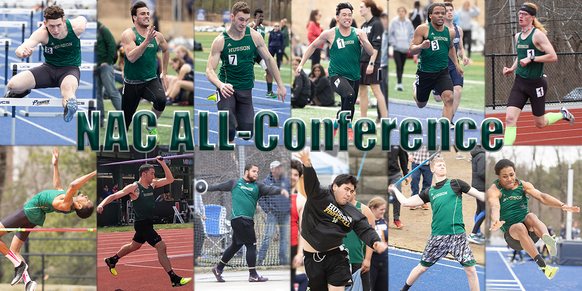 12 Male T&F Student-Athletes Grab NAC All-Conference Honors