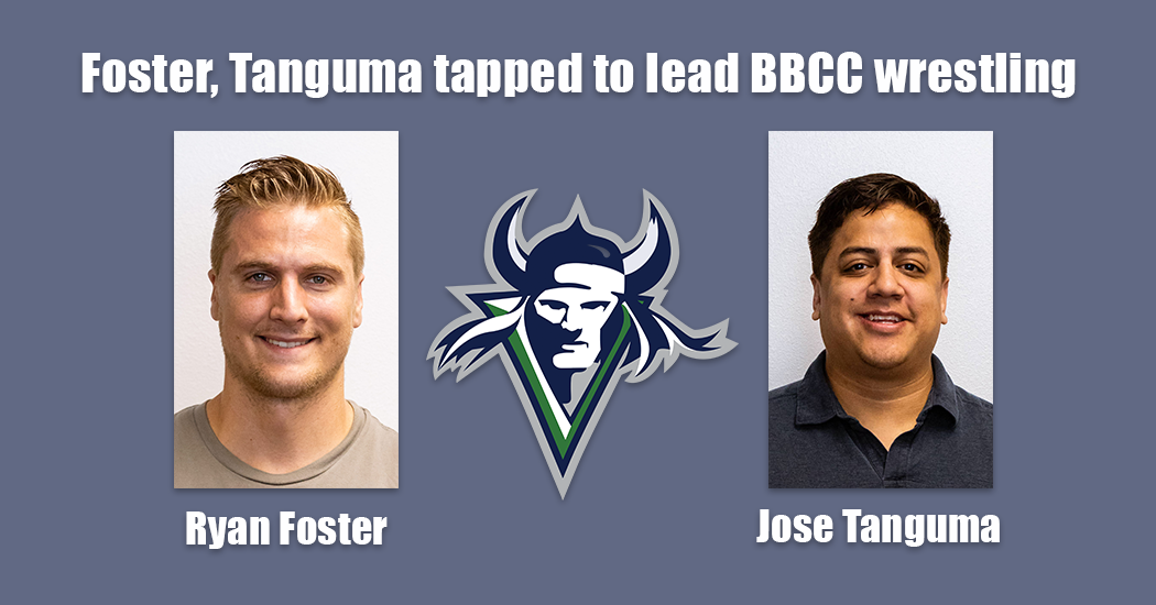 Athletic Director Mark Poth announced Tuesday that the college had chosen Jose Tanguma and Ryan Foster to lead the men and women?s programs respectively at Big Bend Community College.