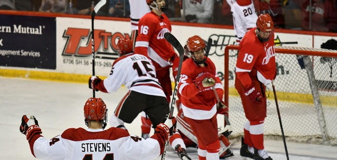 St. Lawrence gives up early goals, falls to No. 11/12 Cornell