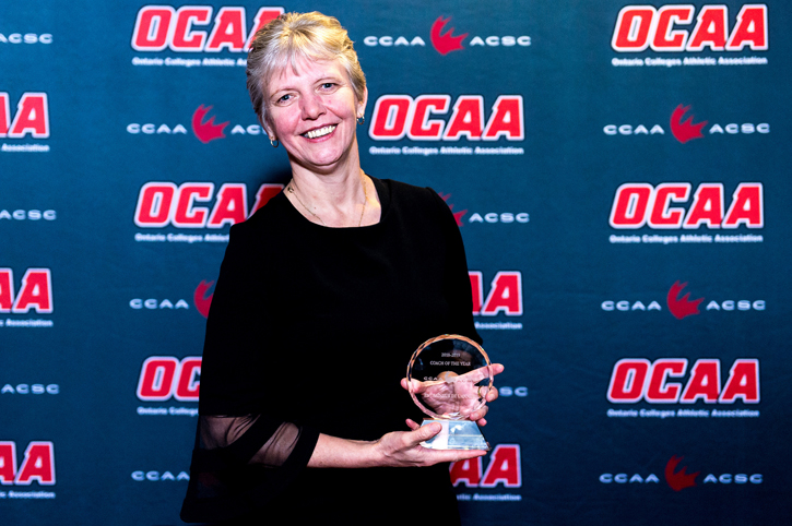Scott named CCAA Coach of the Year