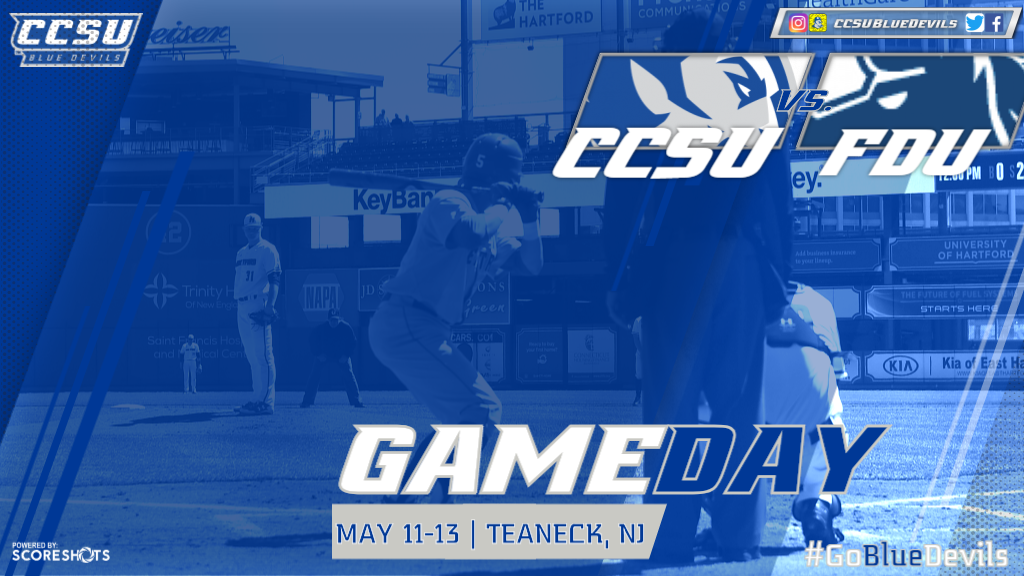 Baseball Closes Out NEC Slate at Fairleigh Dickinson This Weekend