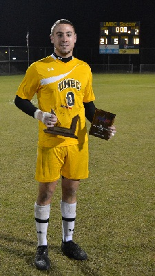 Phil Saunders posted a shutout in the 0-0 draw vs. Radford in 2012.