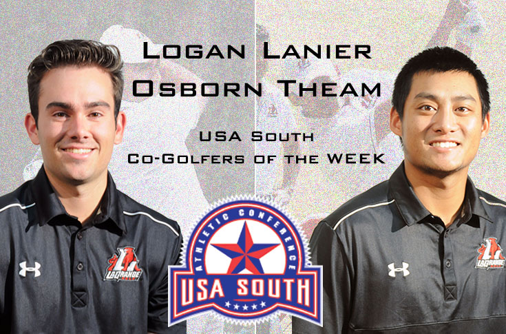 Golf: Logan Lanier and Osborn Theam are USA South Co-Golfers of the Week