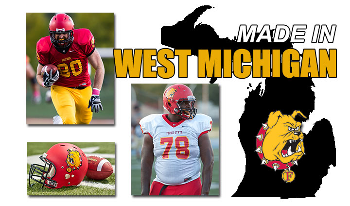 Large Group Of West Michigan Products Expected To Help Lead Ferris State Football
