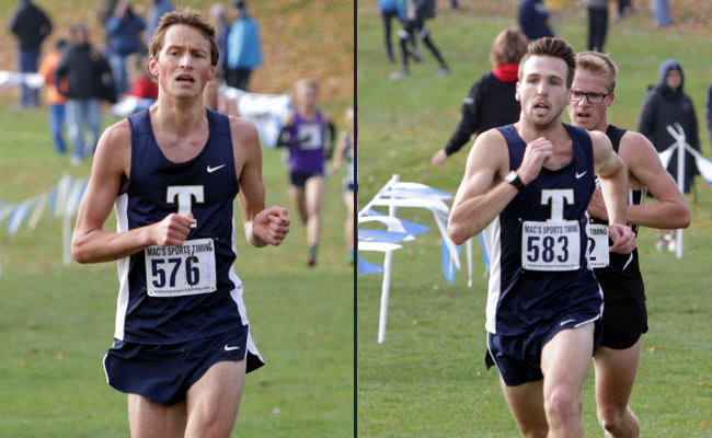 Beakas and Neuzerling Compete in NCAA National Meet