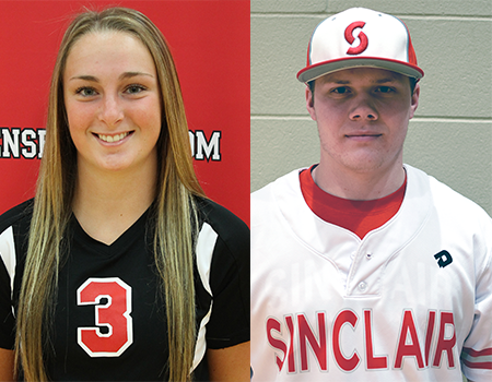 Glenn, Gyori Named OCCAC Scholar-Athletes of the Year