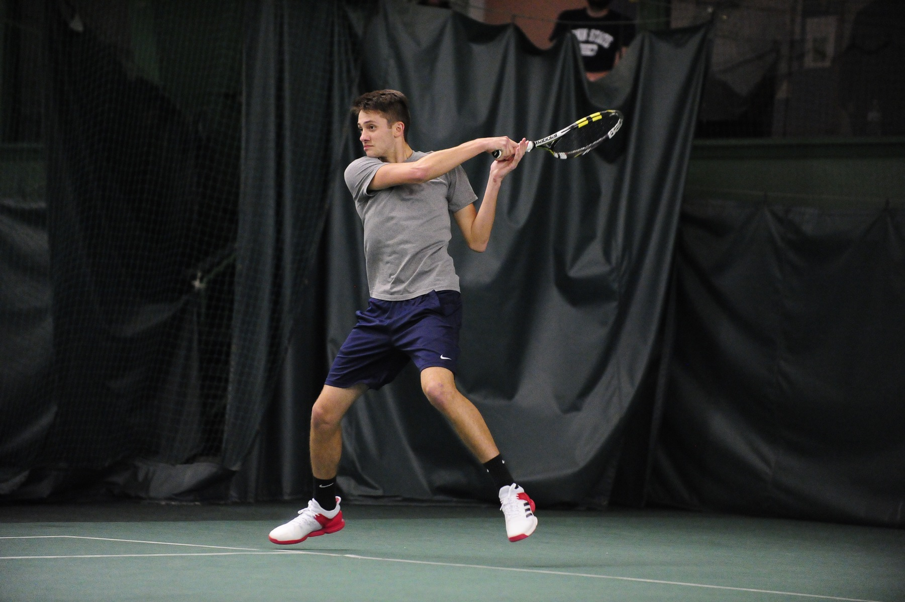 Men's Tennis On A Roll; Lions Defeat Albion