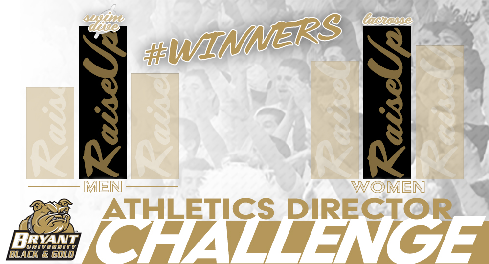 Men's Swimming & Diving, Women's Lacrosse win first-ever Athletic Director Challenge!