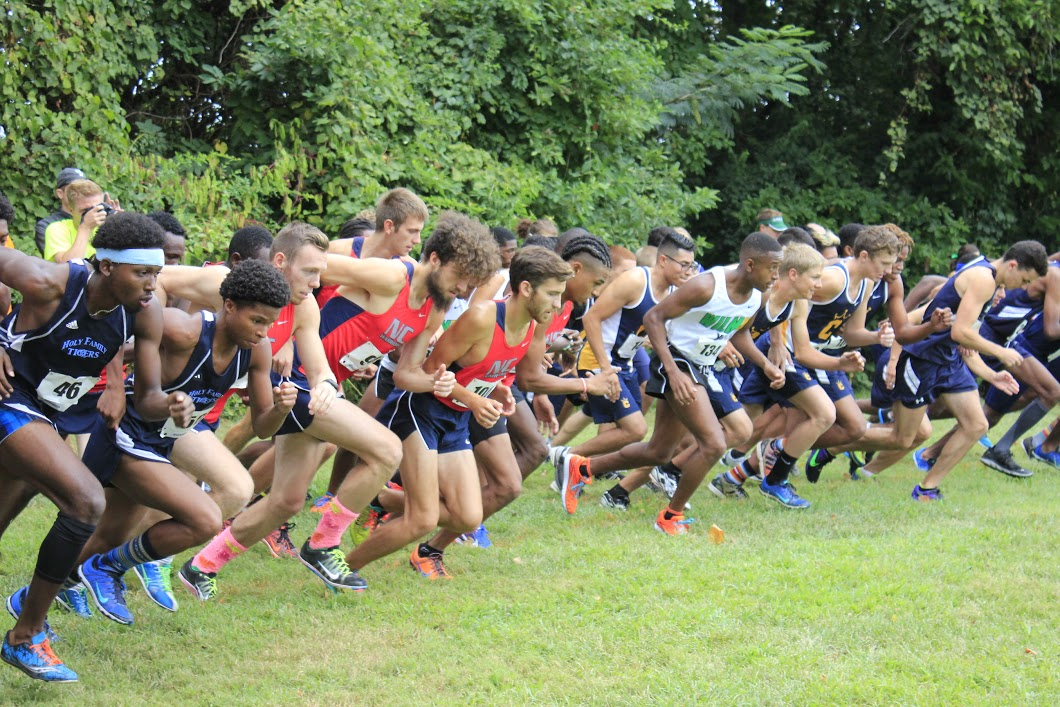 Men's XC open season with second place finish at Wilmington Invitational