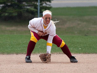 Lysany Weaver collected four hits and four RBIs in game-one win over Findlay.  (Photo by Ben Amato)