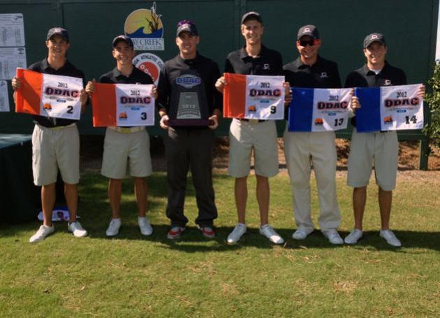 Guilford College-2012 ODAC Golf Champions
