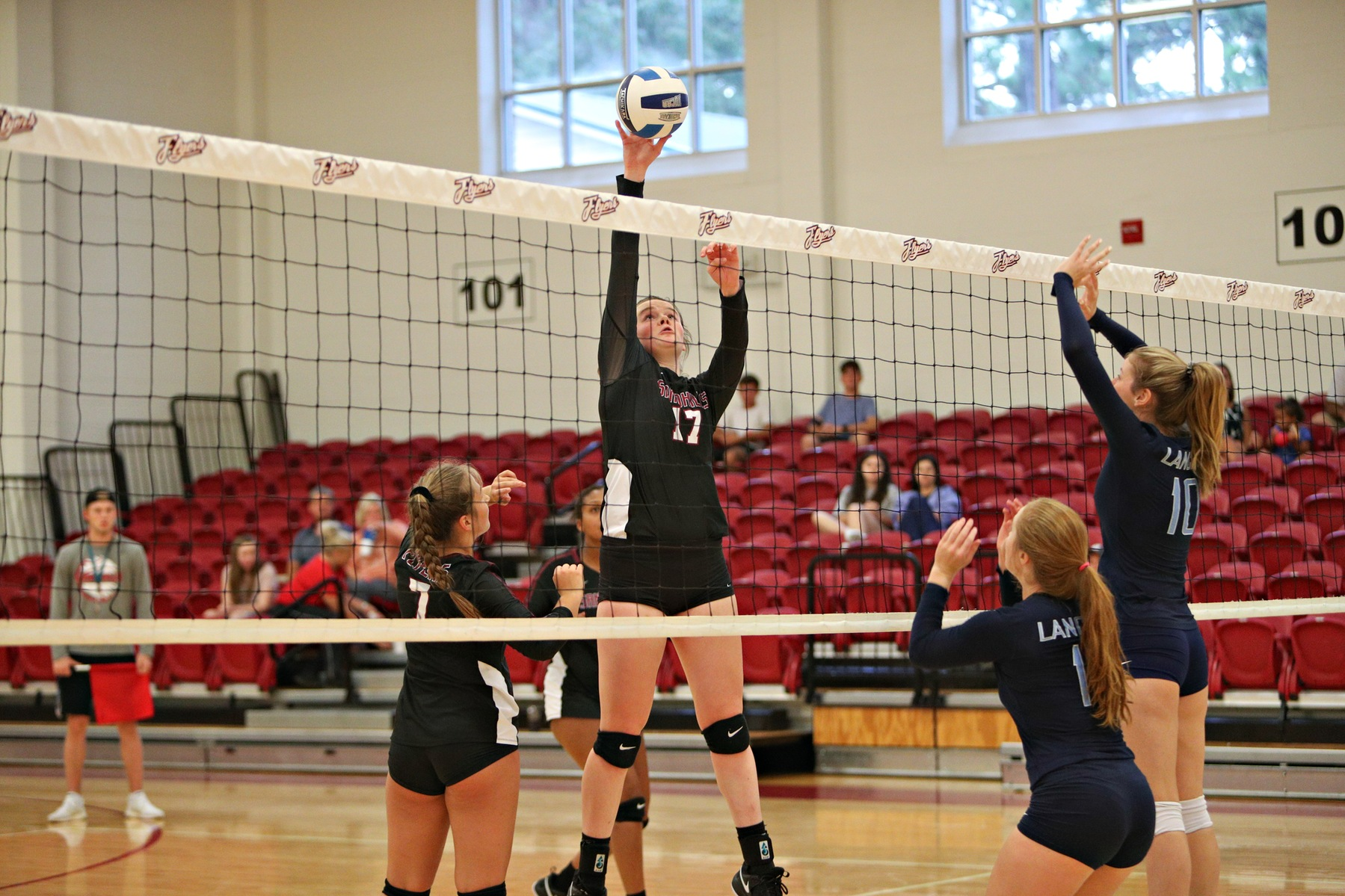 Lady Flyers Sharp in Sweep of the Lancers