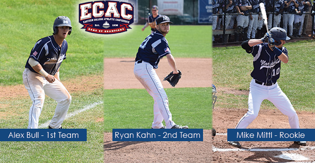 Bull & Kahn Named ECAC DIII South All-Stars; Mittl Selected as Rookie of the Year